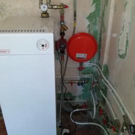 Реконструкция системы автономного отопления (пос. Ксеньевка)