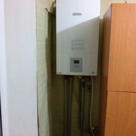 Автономное отопление в квартире (ул. Мониторная)