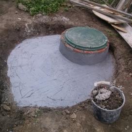 Монтаж системы канализации и выгребной ямы (Днепропетровск, пр. Гагарина)