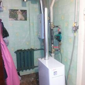 Реконструкция системы отопления частного дома, демонтаж котла