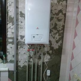 Автономное отопление квартиры (ул. Запорожское шоссе)