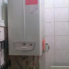 Автономное отопление в квартире (ул. Инженерная 1)