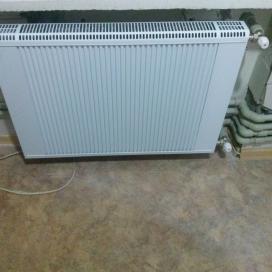 Автономное отопление в квартире (ул. Запорожское шоссе)