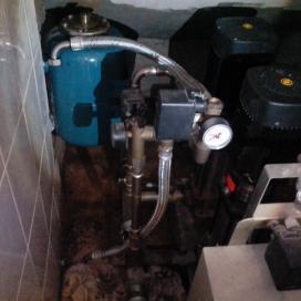Противопожарное водоснабжение. Чистка пожарных насосов